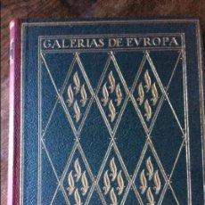 Libros de segunda mano: GALERÍAS DE EUROPA - EL LOUVRE - ILUSTRADO - EDITORIAL LABOR - TERCERA EDICIÓN. Lote 95694195