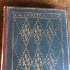 Libros de segunda mano: GALERÍAS DE EUROPA - MUSEOS ALEMANES - ILUSTRADO - EDITORIAL LABOR - SEGUNDA EDICIÓN. Lote 95750359