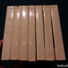 Libros de segunda mano: VAN GOGH+REMBRANDT + VELÁZQUEZ +EL GRECO +RENOIR +PICASSO +GOYA- 7 LIBROS EL GUSTO DE NUESTRO TIEMPO. Lote 95871595