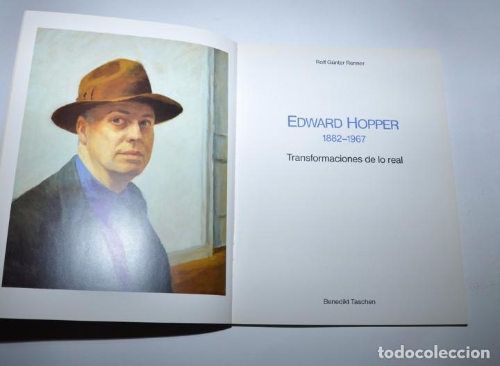 Libros de segunda mano: EDWARD HOPPER - TRANSFORMACIONES DE LO REAL EDIC. ESPAÑOLA - Foto 2 - 96114679