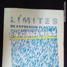 Libros de segunda mano: LIMITES DE EXPRESION PLASTICA EN CANARIAS. Lote 96446559