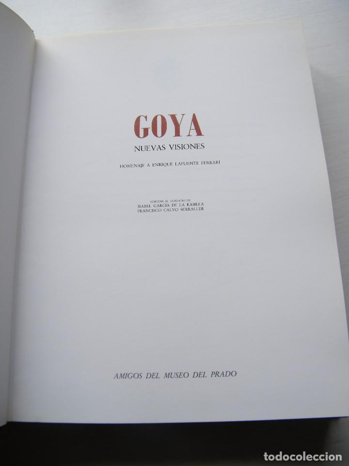 Libros de segunda mano: GOYA (NUEVAS VISIONES) - ISABEL GARCÍA DE LA RASILLA Y FRANCISCO CALVO SERRALLER - AMIGOS DEL PRADO - Foto 4 - 96509011