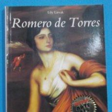 Libros de segunda mano: ROMERO DE TORRES. LILY LITVAK. ELECTA 1999. 63 PÁGINAS. 17 X 12 CM.. Lote 96658127