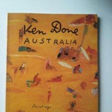 Libros de segunda mano: AUSTRALIA: PAINTINGS AND DRAWINGS 1979/1987 - KEN DONE . Lote 97082511