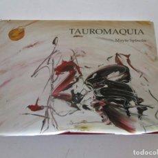Libros de segunda mano: MAYTE SPÍNOLA. TAUROMAQUIA. RM82801. . Lote 97217615