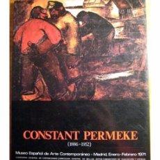 Libros de segunda mano: CONSTANT PERMEKE (1886-1952). CATÁLOGO DE EXPOSICIÓN. Lote 97328819