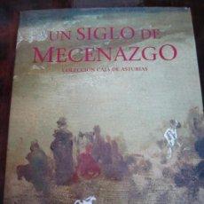 Libros de segunda mano: UN SIGLO DE MECENAZGO. COLECCION CAJA DE ASTURIAS. PRIMERA EDICION 1996. TAPA DURA EN TELA CON SOBRE. Lote 97386627