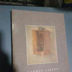 Libros de segunda mano: CARMEN LAFFON. BODEGONES, FIGURAS Y PAISAJES. Lote 175820653