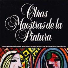 Libros de segunda mano: OBRAS MAESTRAS DE LA PINTURA - TOMO 8 - GALERIA WASHINGTON - MUSEO ARTE NUEVA YORK - WHITNEY MUSEUM. Lote 97574179