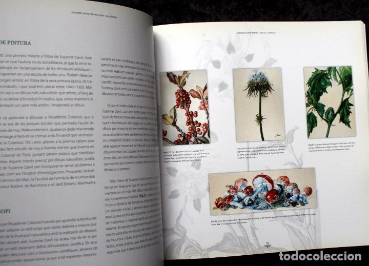 Libros de segunda mano: SUZANNE DAVIT - UNA IL.LUSTRADORA A L´INSTITUT BOTÀNIC Omnis Cellula,Insitut Botànic de Barcelona, - Foto 3 - 97712727