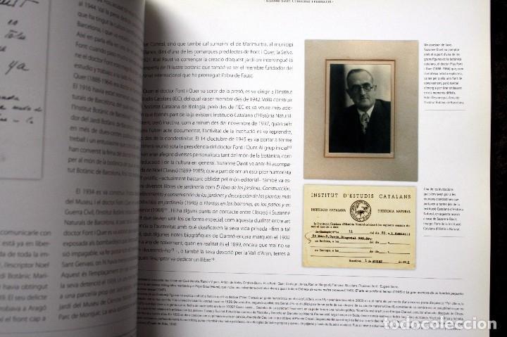 Libros de segunda mano: SUZANNE DAVIT - UNA IL.LUSTRADORA A L´INSTITUT BOTÀNIC Omnis Cellula,Insitut Botànic de Barcelona, - Foto 10 - 97712727