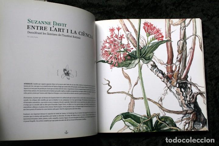 Libros de segunda mano: SUZANNE DAVIT - UNA IL.LUSTRADORA A L´INSTITUT BOTÀNIC Omnis Cellula,Insitut Botànic de Barcelona, - Foto 17 - 97712727
