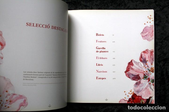 Libros de segunda mano: SUZANNE DAVIT - UNA IL.LUSTRADORA A L´INSTITUT BOTÀNIC Omnis Cellula,Insitut Botànic de Barcelona, - Foto 18 - 97712727