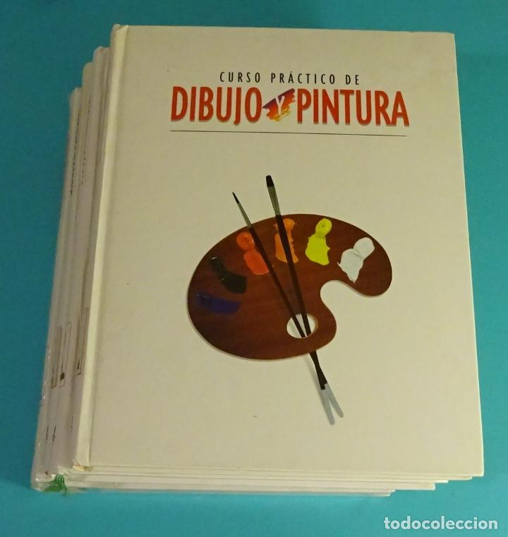 CURSO PRÁCTICO DE DIBUJO Y PINTURA. 4 TOMOS. RBA (Libros de Segunda Mano - Bellas artes, ocio y coleccionismo - Pintura)