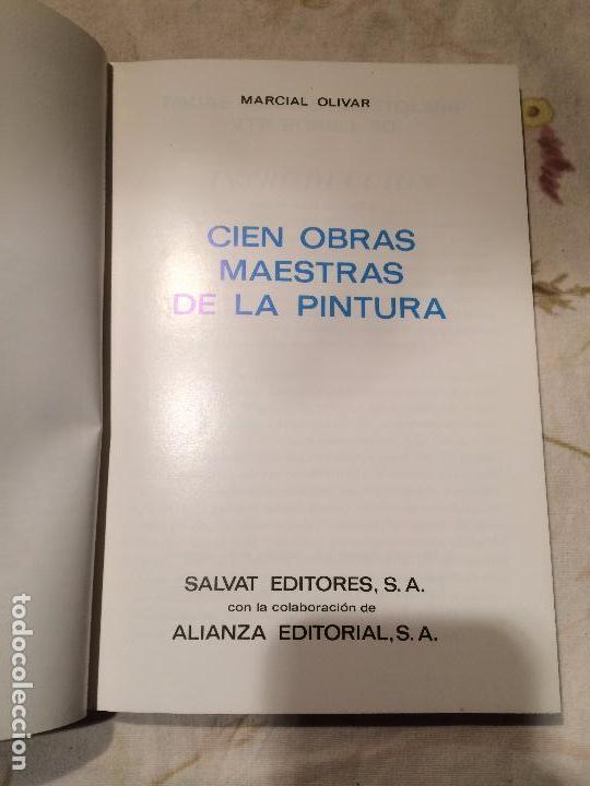 Libros de segunda mano: Antiguo libro cien obras maestras de lña pintura por M. oliver editorial Salvat año 1969 - Foto 2 - 98386363