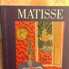 Libros de segunda mano: MATISSE - LOS GRANDES GENIOS DEL ARTE CONTEMPORANEO - BIBLIOTECA EL MUNDO. Lote 98406247