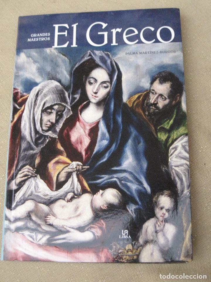GRANDES MAESTROS - EL GRECO. (Libros de Segunda Mano - Bellas artes, ocio y coleccionismo - Pintura)