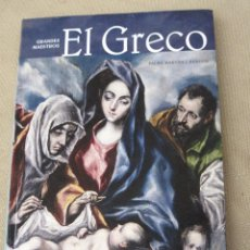 Libros de segunda mano: GRANDES MAESTROS - EL GRECO.. Lote 98953427