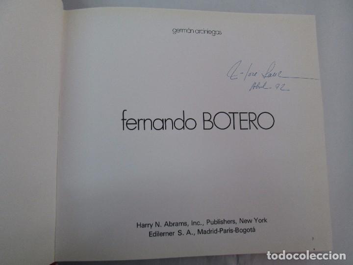 Libros de segunda mano: FERNANDO BOTERO. GERMAN ARCINIEGAS. EDITORIAL EDILERNER. 1977. VER FOTOGRAFIAS ADJUNTAS - Foto 8 - 99174707