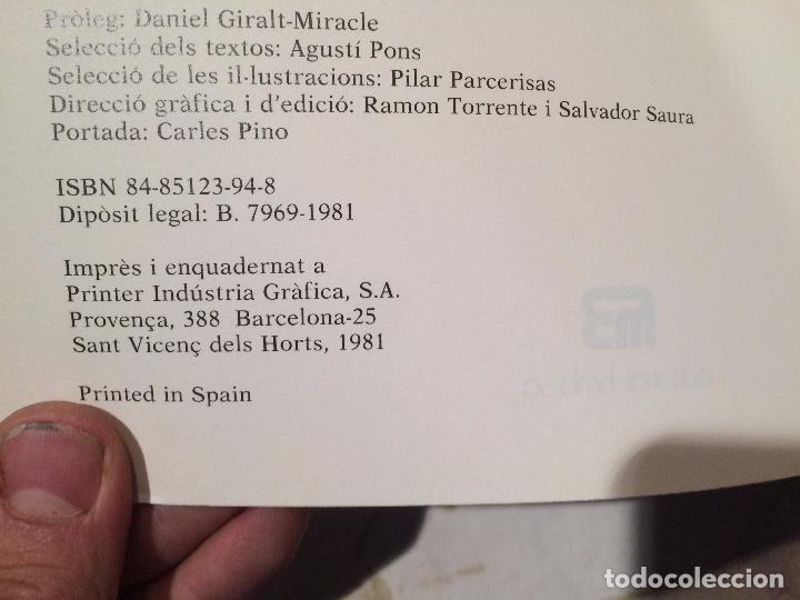 Libros de segunda mano: Antiguo libro homes , terres , paisatges ... catalunya vista pels seus artistes i escriptors año 81 - Foto 3 - 99229463