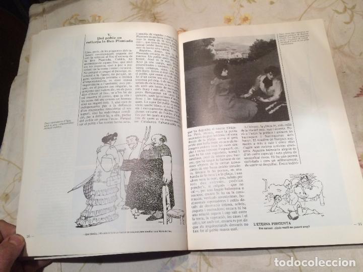 Libros de segunda mano: Antiguo libro homes , terres , paisatges ... catalunya vista pels seus artistes i escriptors año 81 - Foto 4 - 99229463