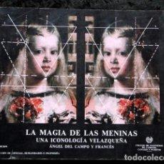 Libros de segunda mano: LA MAGIA DE LAS MENINAS - UNA ICONOLOGIA VELAZQUEÑA - ANGEL DEL CAMPO Y FRANCES - EDICION AMPLIADA. Lote 99459807