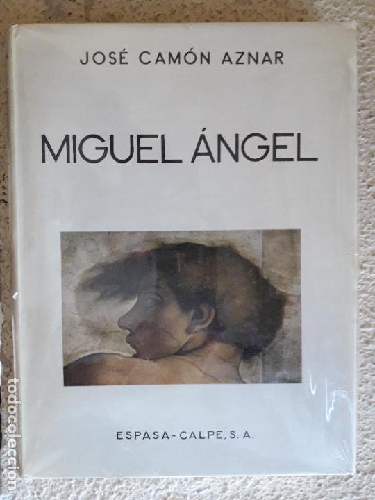 MIGUEL ANGEL - JOSE CAMÓN AZNAR - ESPASA CALPE (Libros de Segunda Mano - Bellas artes, ocio y coleccionismo - Pintura)