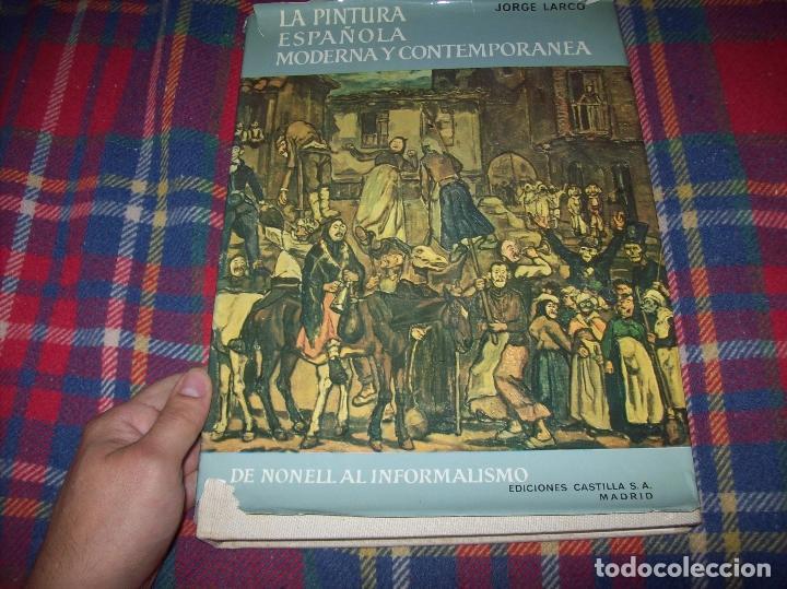 Libros de segunda mano: LA PINTURA ESPAÑOLA MODERNA Y CONTEMPORANEA. 3 TOMOS. JORGE LARCO. ED. CASTILLA. 1964. UNA JOYA!!!! - Foto 30 - 100104991