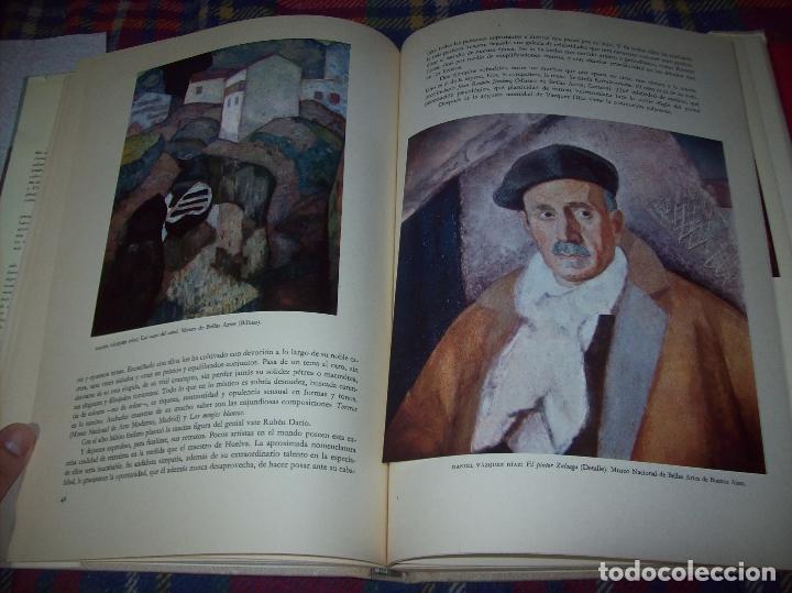 Libros de segunda mano: LA PINTURA ESPAÑOLA MODERNA Y CONTEMPORANEA. 3 TOMOS. JORGE LARCO. ED. CASTILLA. 1964. UNA JOYA!!!! - Foto 37 - 100104991