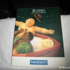Libros de segunda mano: BOTERO UNA MIRADA DIFERENTE.EDITA CAJASOL.2008. Lote 100181359