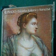 Libros de segunda mano: LIBRO FILM EL PRADO ESCUELA ITALIANA Y FRANCESA 1972 100 DIAPOSITIVAS. Lote 100486895