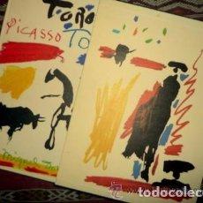 Libros de segunda mano: PICASSO TOROS Y TOREROS - CON SELLO EN SECO DE PUBLIESPAÑA. Lote 102417663