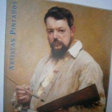 Libros de segunda mano: LIBROS ARTE PINTURA - ARTISTAS PINTADOS RETRATOS DE PINTORES Y ESCULTORES DEL SIGLO XIX MUSEO DEL PR. Lote 103281783