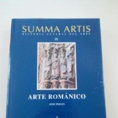Libros de segunda mano: SUMMA ARTIS-HISTORIA GENERAL DEL ARTE- LOTE 13 TOMOS + 2 REGALO-ED. ESPASA CALPE-COMO NUEVOS-2000- . Lote 103603355