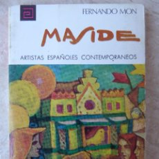Libros de segunda mano: CARLOS MASIDE - ARTISTAS ESPAÑOLES CONTEMPORÁNEOS Nº 33 - F. MON. Lote 103785159