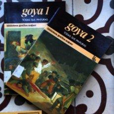 Libros de segunda mano: GOYA. 2 VOLUMENES.. Lote 147583865