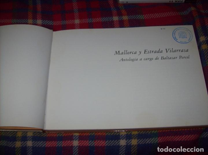 Libros de segunda mano: MALLORCA Y ESTRADA VILARRASA.ANTOLOGÍA A CARGO DE BALTASAR PORCEL. ED. AUSA. 1983. - Foto 4 - 104017915