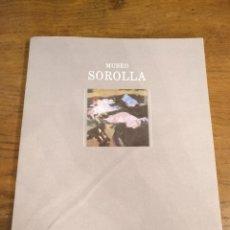 Libros de segunda mano: MUSEO SOROLLA MADRID. Lote 104189104