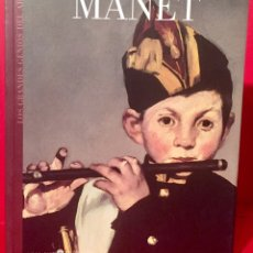 Libros de segunda mano: MANET. LOS GRANDES GENIOS DEL ARTE. BIBLIOTECA EL MUNDO. PRESENTADO POR PALOMA ESTÉBAN LEAL. PRI. Lote 104280511