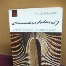 Libros de segunda mano: ARCADIO BLASCO. M. GARCIA-VIÑO. ARTISTAS ESPAÑOLES CONTEMPORANEOS.PINTURA.Nº 39.. Lote 104286159