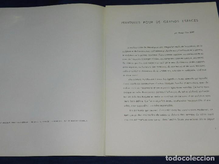 Libros de segunda mano: (M) DERRIERE LE MIROIR - PEINTURES MURALES JOAN MIRO 1961 MAEGHT EDITEUR NUM 128 - Foto 3 - 104618675