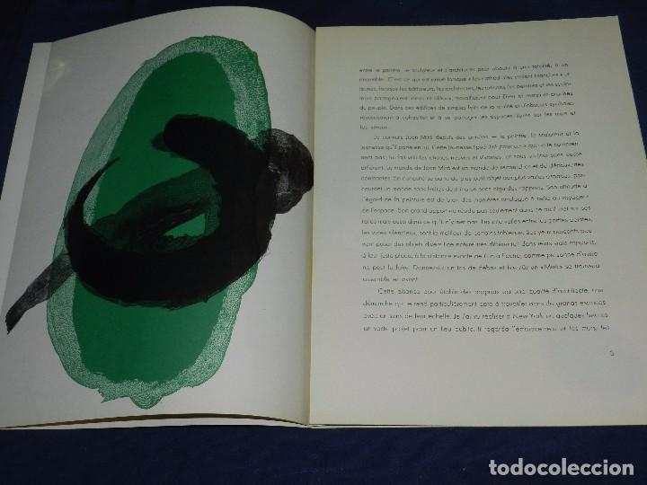 Libros de segunda mano: (M) DERRIERE LE MIROIR - PEINTURES MURALES JOAN MIRO 1961 MAEGHT EDITEUR NUM 128 - Foto 4 - 104618675
