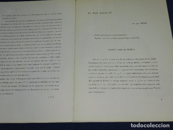 Libros de segunda mano: (M) DERRIERE LE MIROIR - PEINTURES MURALES JOAN MIRO 1961 MAEGHT EDITEUR NUM 128 - Foto 6 - 104618675