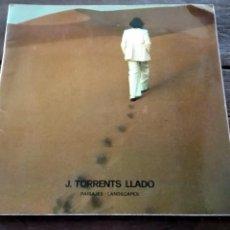 Libros de segunda mano: CATALOGO. J. TORRENTS LLADO PAISAJES. MADRID. NOVIEMBRE, 1975 W. Lote 105167367