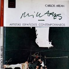 Libros de segunda mano: AREÁN, CARLOS. MANUEL MILLARES (1926-1972). 1972.. Lote 105436055