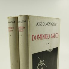 Libros de segunda mano: DOMINICO GRECO, JOSÉ CAMÓN AZNAR, 1950, ESPASA-CALPE, MADRID. 21X28CM. Lote 105802079