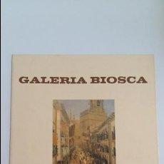Libros de segunda mano: GALERIA BIOSCA EXPOSICION DE OBRAS INEDITAS DE DARIO DW REGOYOS. 1980. W . Lote 106040987