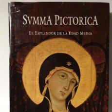 Libri di seconda mano: PINTURA ROMÁNICA,BIZANTINA ( ICONOS) Y GÓTICA PICTORICA EL ESPLENDOR DE LA EDAD MEDIA. Lote 106651339
