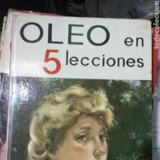 Libros de segunda mano: OLEO EN 5 LECCIONES. Lote 107007520