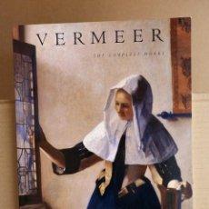 Libros de segunda mano: VERMEER - COMPLETE WORKS. Lote 107014047